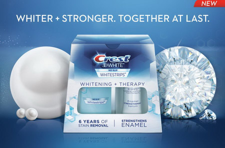 crest 3d white whitestrips whitening therapy