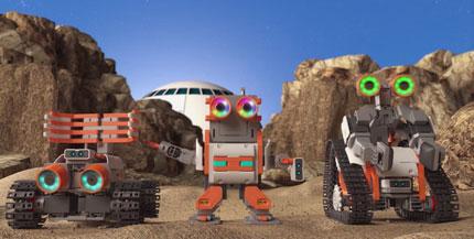 «UBTECH Robotics» создала необычайный набор-конструктор ASTROBOT